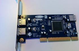 Carte PCI USB